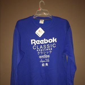 Reebok Classic Unisex Fleece Crew Sweater XL NWT